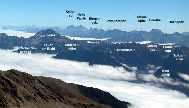 Eggenkofel Group of the Lienz...