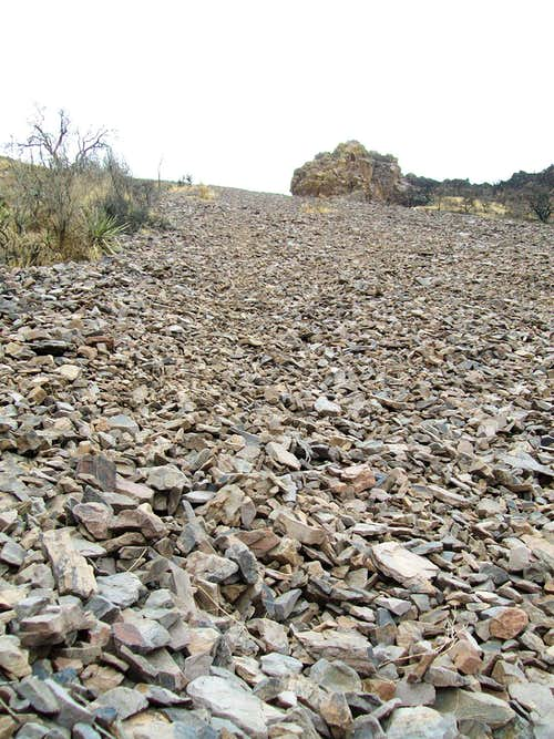 Scree Slope on Baldy