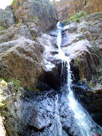 Small Waterfall at Soledad Canyon
