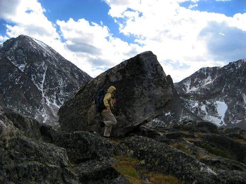 Summit boulder