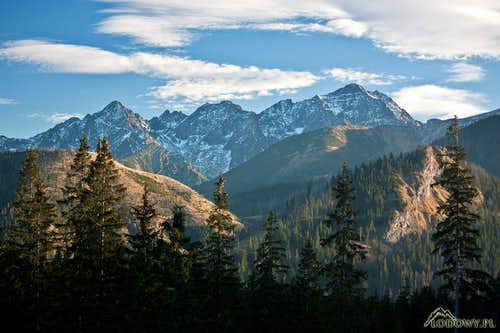 High Tatras, from Kolovy to Ladovy