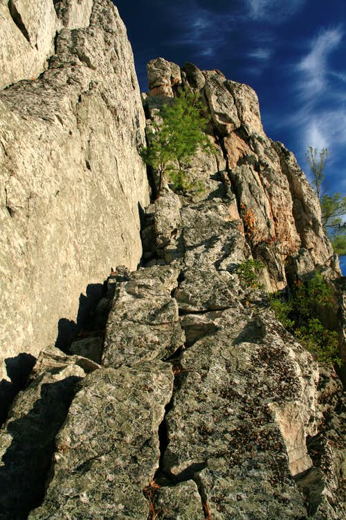 Class 5 Pitch to Gunsight Notch