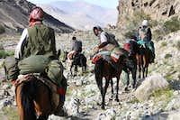 Pamir River Valley Afghanistan