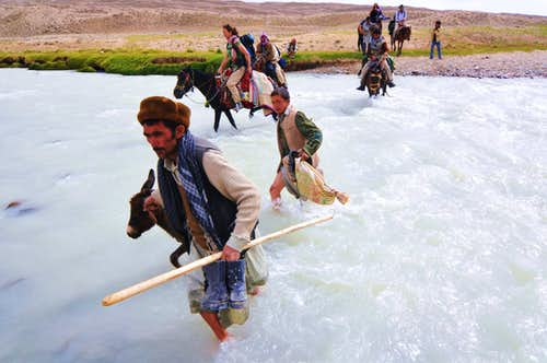 River Crossing Big Pamir