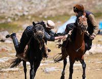 Buzkhashi in the Big pamir