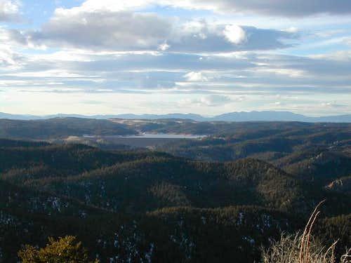 Rampart Reservoir as seen...