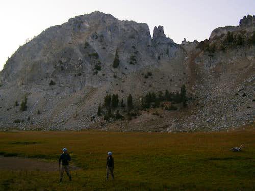 Starting the South Ridge