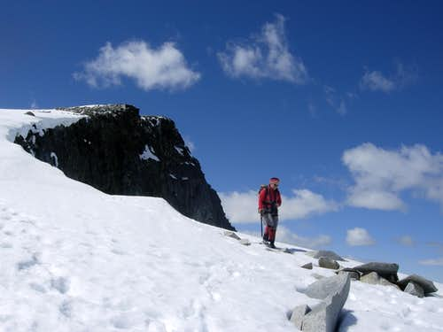 Galdhøpiggen - The left ridge