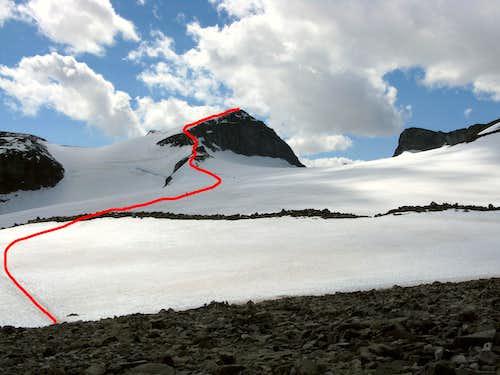 Styggebreen Route to Galdhøpiggen