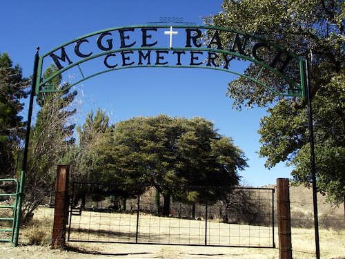 McGee Ranch Cemetery