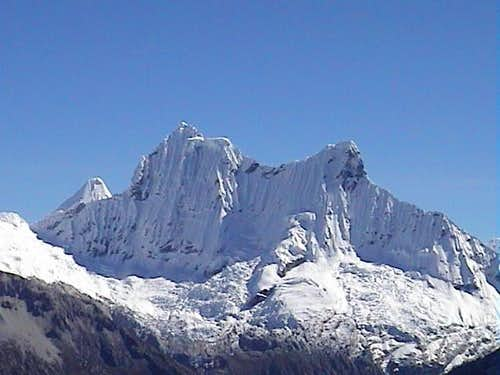 Chacraraju 6112mts. seen from...