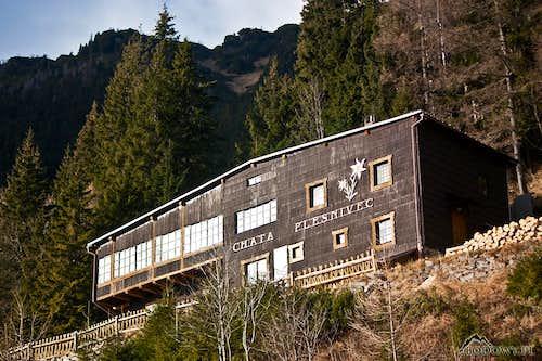 Chata Plesnivec hut