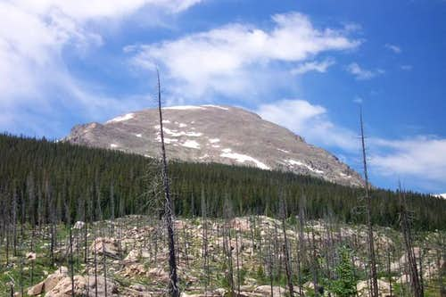 View of East Face, Bushwack...