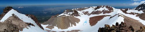 Shastina Crater Panorama