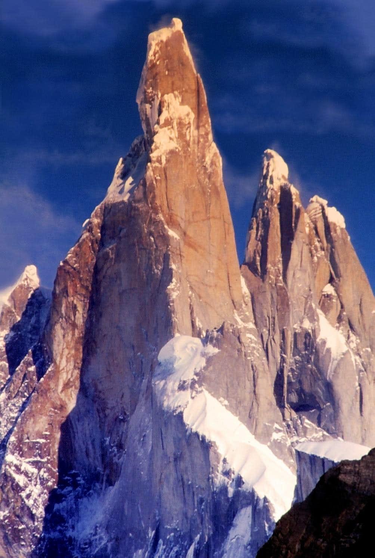 Cerro Torre seen from Torre Glacier
