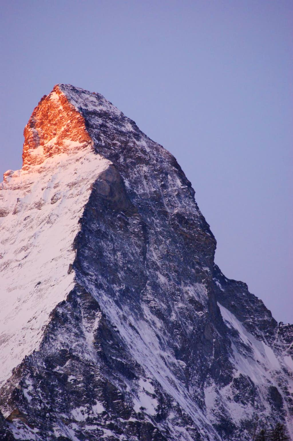 Sunrise Matterhorn North Face