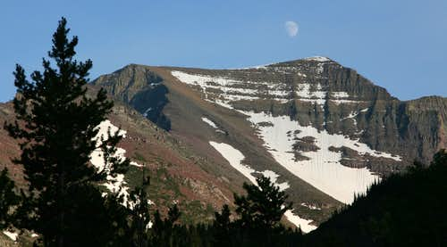 Allen Mountain, Moonrise