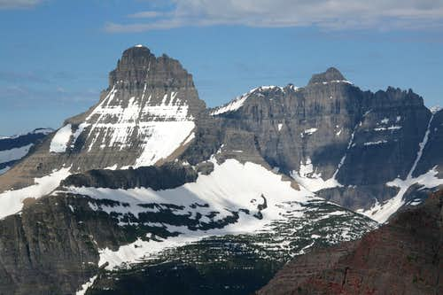 Mount Wilbur and Iceberg Peak