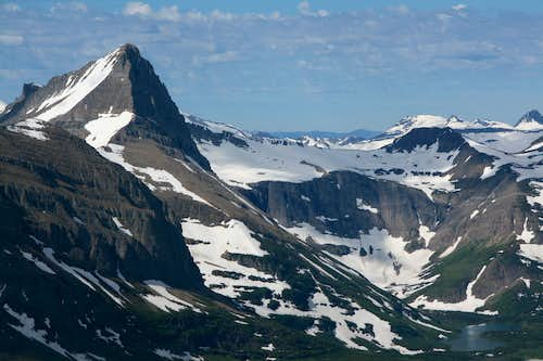 Mount Grinnell and Swiftcurrent Glacier