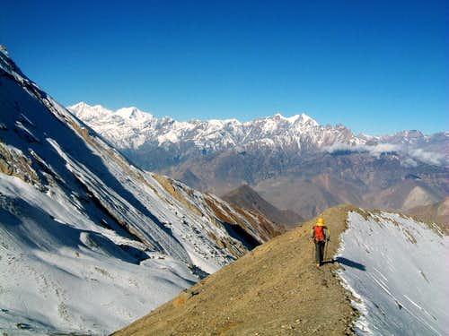 Annapurna - From Thorung Là towards Muktinath