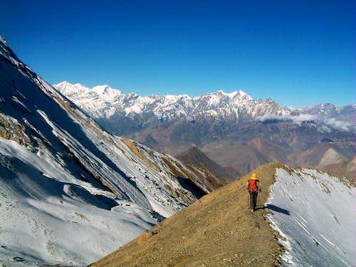 Annapurna - From Thorung Là towards Muktinath