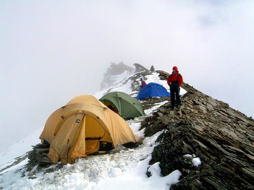 Annapurna - Pisang Peak high camp