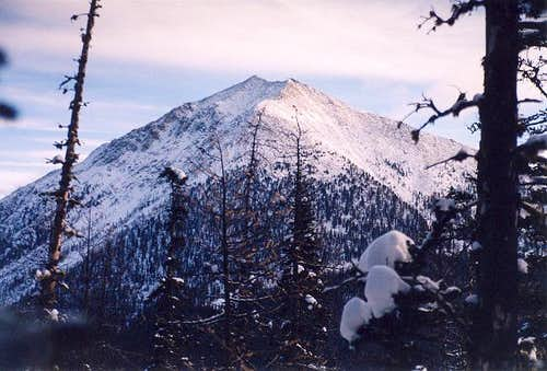 Oval Peak from the WSW (from...