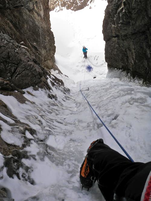 2nd pitch - looking down
