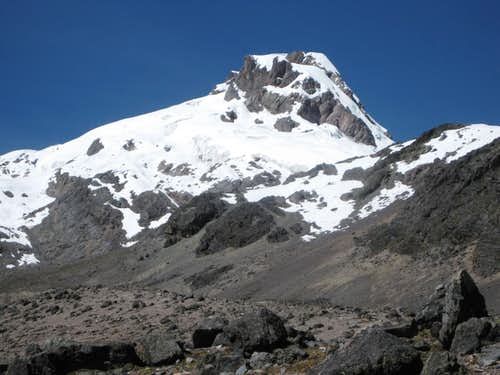 Nevado Campa I, seen from the NW