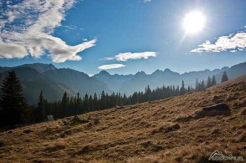 In the arms of Tatra sunshine