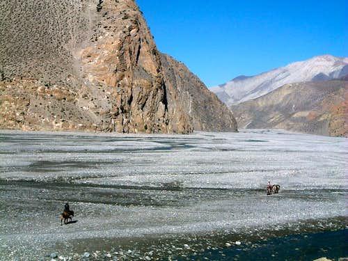 Annapurna trail - Pilgrims' way