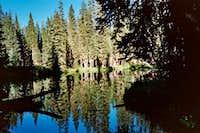 Pond along the CDT