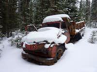 Truck at Hunki Dori Mine