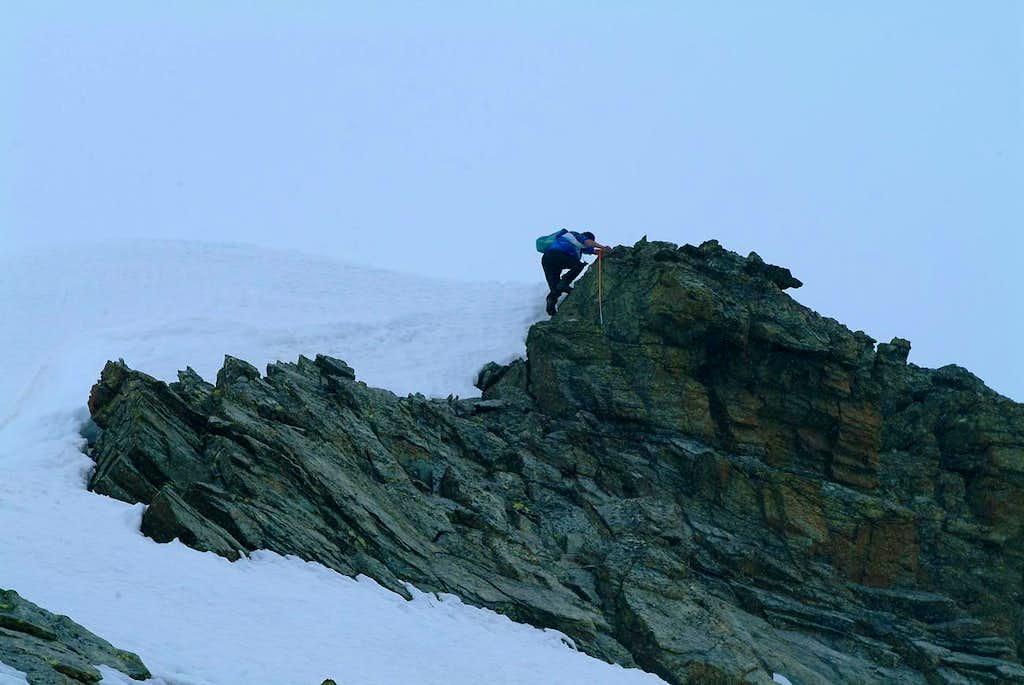 On the West Ridge to Summit's