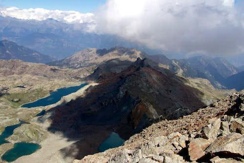 Gran Rossa & Lochs from Glacier
