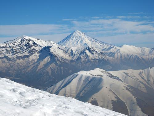 Damavand from darabad