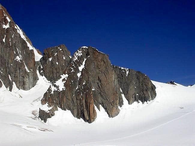 la pointe Lachenal (3613 m.)