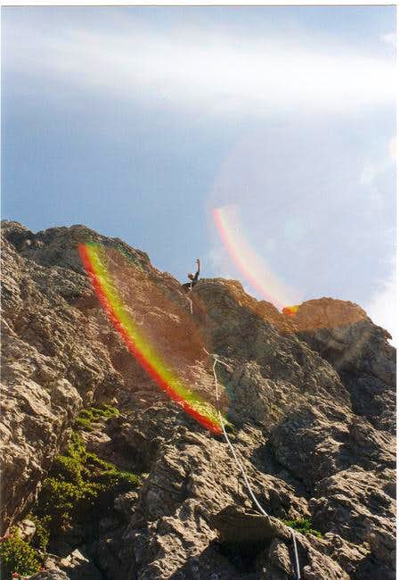 Climbing the...