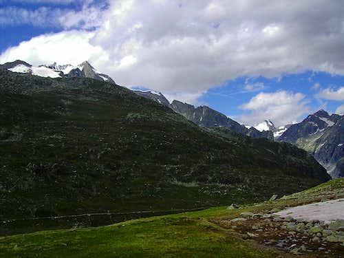 Wannenhorn slopes