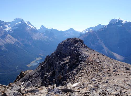 Paget Peak South Summit
