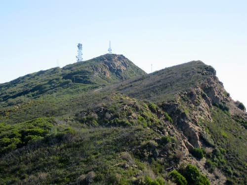 Berryessa Peak North Ridge