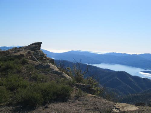 View to the Southwest from Summit of Berryessa Peak