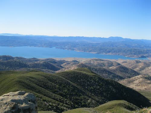 View Northwest from Summit of Berryessa Peak