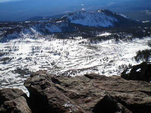 From Green Butte summit, 12-17-2011