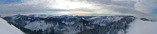 Big Chief Summit Panorama