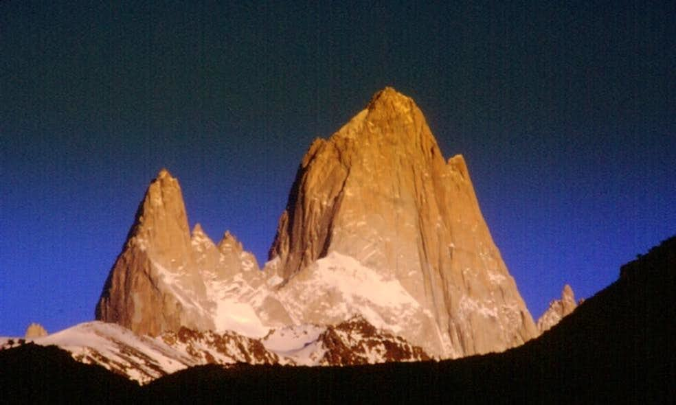 Cerro Fitz Roy and Aguja Poincenot