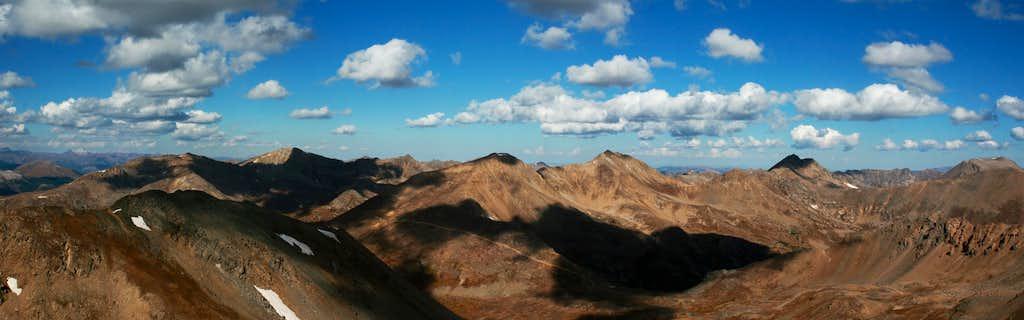 Casco Peak Summit Panorama