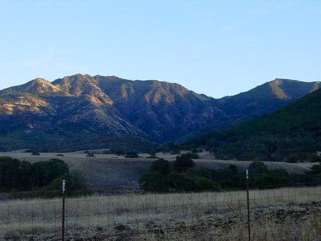Mt Diablo from Mitchell...