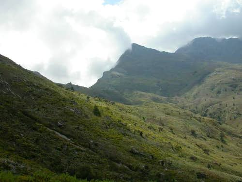 Typical plateau scenery