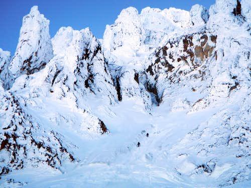 Two Climbers - Reid Headwall